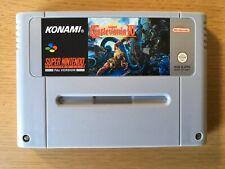Super Castlevania IV 4 Super Nintendo Snes Game Cart Only PAL
