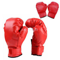 Age 3-12 Kids Karate Boxing Taekwondo MMA Martial Arts Training Sparring Gloves