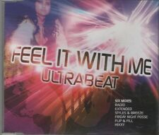 ULTRABEAT  Feel it with me 6 TRACK CD     NEW - NOT SEALED