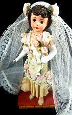 Madame Alexander Resin Doll Repaired Roaring 20 Bride Rose Figure Figurine Madam