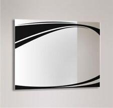 Miroirs de salle de bain noir muraux pour la décoration intérieure