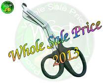 "Black Utility Scissors for Cutting Fabrics EMT Medical Bandage Shears 5 1/2"""