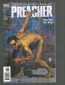 Preacher #57 ~ painted cover by Glenn Fabry ~ 2000 (9.4) WH