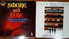 "Lot of 2 Various Artist 12 "" LP. Jimmy Page, John Paul Jones,  more"