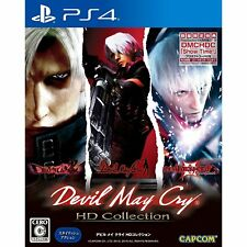 Capcom Devil May Cry HD Collection SONY PS4 PLAYSTATION 4 JAPANESE VERSION