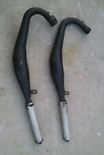 Yamaha rd350 vintage expansion exhaust pipes