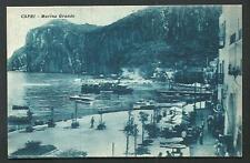 Capri ( Napoli ) : Marina Grande - cartolina non viaggiata anni '20
