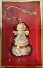 Lenox Ornament Angel on Cloud Hinged Trinket Box Treasures Collection 2005