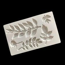 Silicone Rose Flower Vine Branch Mold Clay Fondant Mold DIY Cake Mould New