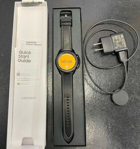 Samsung Galaxy Watch 3 45mm LTE Cellular SM-R845U Smartwatch Good Used