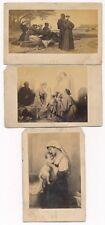 Four Famous Paintings on CDV by Photographie Goupil & Co. Paris 1860's 4 CDV SET