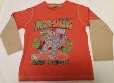 462bb5b1 Boys Mecha-saurus Mechanical Dinosaur Long Sleeved T-Shirt Top Age 7 Years  TU