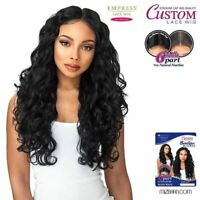Sensationnel Synthetic Empress 6 Inch Part Custom Lace Front Wig Body Wave
