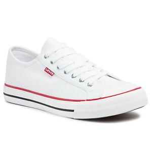 Levi's Men Shoes Luxurious Casual Fashion White Hernandez Sneaker 233012-733-51