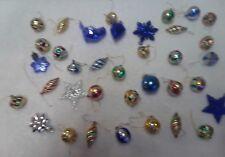 36 Mini Christmas Tree Ornaments
