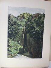 AUTRICHE-TYROL : Gravure 19° in folio couleur / GROTTES DE SAINT-CANZIAN