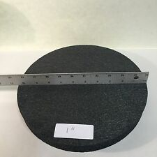 "Bucket Lid Pad 10 1/2"" x 1"" High Density Round Foam Support Pad and Kneeling Pad"