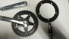 TOKEN TRACK CHAINSET, 165MM, 48T 49T RINGS MATCHING BB