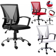 Ergomic Mesh Office Chair Executive Computer Mid Back Swivel Task Desk Home