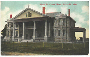 1910 King's Daughters' Home, Greenville, Mississippi