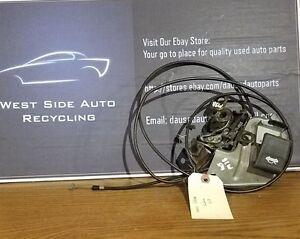 1995 Subaru SVX Hood Release Cable Lock Latch (M38)