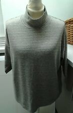 MARKS & SPENCERS SOFT CREW NECK JUMPER UK 18 EURO 46 CAMEL MIX B.N.W.T.