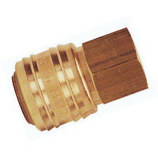"RECTUS SERIES 26 COUPLINGS - 1/2"" BSPP FEM COUPLING BRASS 3-00890"