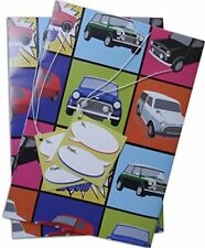 Mini Cooper classic car original inspired Gift Wrapping Paper and gift tags