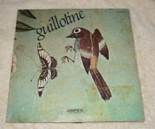 LP : Guilotine (1971) Ampex Records - very good condition