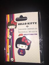 RARE New Hello Kitty Collectible Pin from JANM Japanese American National Museum