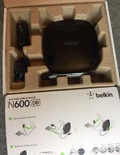 Belkin N600 DB Wireless Wi-Fi Dual-Band N+ Router - Used Working!