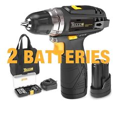Drill Driver Set Compact Cordless With Li-Ion Battery Power Tool Lightweight