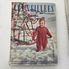 Vintage French Magazines In Hard Back Book