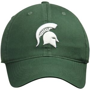 Michigan State Spartans Hat Cap Cotton Relaxed One Fit Flex M/L NWT