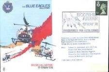 AD1 Blue Eagles Helicopter Air Display RAF flown Cover