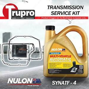 SYNATF Transmission Oil + Filter Service Kit for Volvo S60 XC70 XC90 AWD 5Cyl