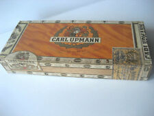 Carl Upmann Cigars Box doos Boîte de cigares Silver tubes Holland