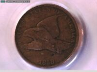 1858 Flying Eagle Cent PCGS VG 10 Small Letters 16041483 Video