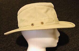 TILLEY Airflo Hat LTM5 Khaki Size 6 7/8