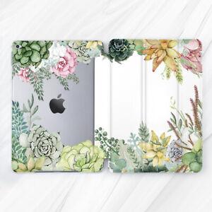 Succulent Nature Cactus Green Case For iPad 10.2 Air 3 Pro 9.7 10.5 12.9 Mini 5