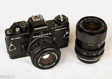 *1984* ● Pentacon Praktica B100 SLR f1.8 50mm + Macro-Zoom 35-70 ● Tested (Bag)