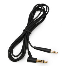 Audio Cable for Bose Soundlink On Ear Around Ear Headphones Lead Aux Wire Black