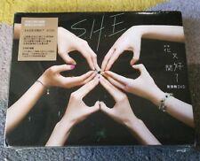 MusicCD4U DVD S.H.E 13th Album Blossomy SHE 花又開好了 影音館 全新 Selina Hebe Ella