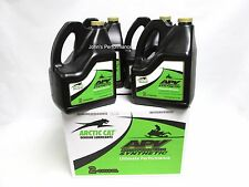 4 Gallons Arctic Cat APV Synthetic 2-Stroke Snowmobile Injection Oil 5639-469