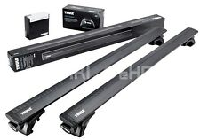 Thule Roof rack Roof Bars WingBar Black +757 Skoda Superb Estate 2009-2015