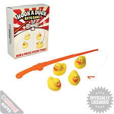 Hook A Duck Bath Game. Novelty Gift Bathtime Kids Fairground Fun Stocking Filler