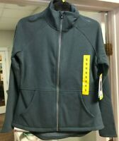 NEW!! Skechers Women's Go Walk Blue Snuggle Fleece Mock Zip Jackets