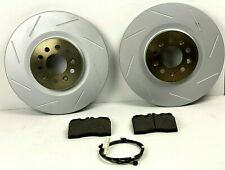 Aston Martin DB9 & V8 Vantage Front Brake Pads & Rotors Set