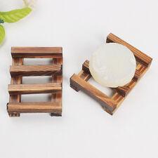1Stück Badezimme Holz Seifenschale Behälter Kasten Seifenhalter Halterung Retro
