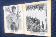 Donny Osmond.The Osmonds Promo Photo Folder